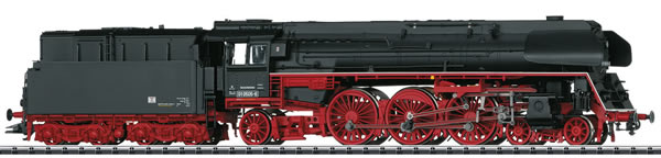 Trix 22906 - German Steam Express Locomotive Class 01.5 with Oil Tender of the DR (DCC Sound Decoder)