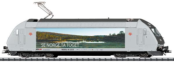 Trix 22910 - Norwegian Electric Locomotive Class EL 18 of the NSB