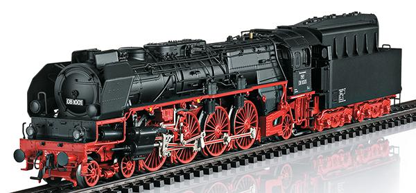 Trix 22912 - German Steam Locomotive BR 08 of the DR
