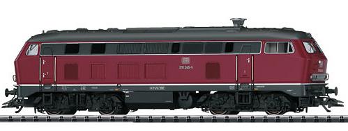 Trix 22918 - German Diesel Locomotive Series 218 of the DB (DCC Sound Decoder)