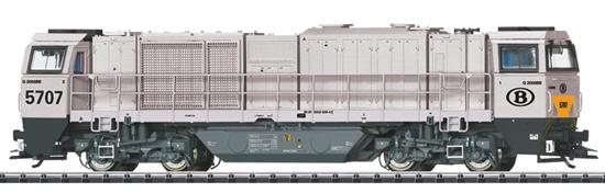 Trix 22921 - Belgian Diesel Locomotive G 2000 BB of the SNCB (DCC Sound Decoder)