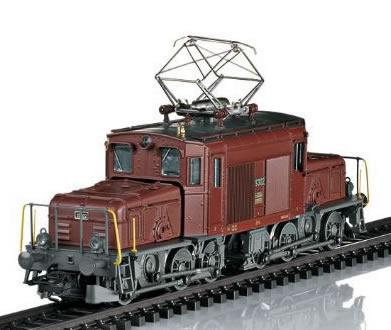 Trix 22961 - Swiss Electric Locomotive cl De 6/6 Seetal Crocodile of the SBB (DCC Sound Decoder)