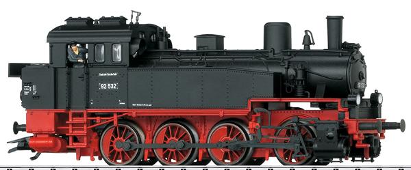 Trix 22977 - German Steam Locomotive Class 92 of the DB (DCC Sound Decoder)