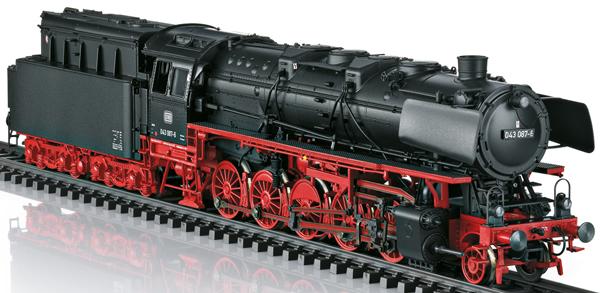 Trix 22986 - German Steam Locomotive Class 043 of the DB (DCC Sound Decoder)