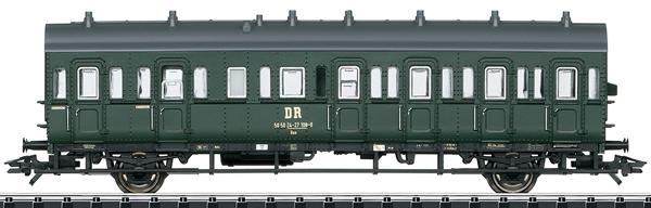 Trix 23307 - DR/DDR Type Baa Passenger Car, Era IV