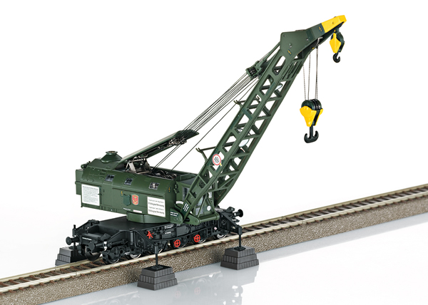 Trix 23457 - German Steam Crane (Ardelt) of the DB