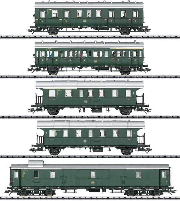Trix 23458 - Passenger Car Set for the Class E 44.5 - INSIDER MODEL