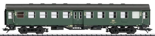 Trix 23492 - DB Passenger Car Umbauwagen, 2nd class w/built-in LED Lighting