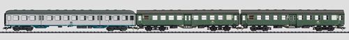Trix 23498 - German 3pc Passenger Coach Set of the DB