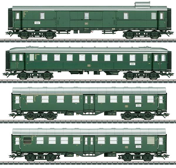 Trix 23507 - Limited Stop Fast Train Passenger Car Set for the Class VT 92.5