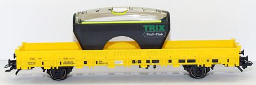 Trix 24080 - Flatcar - 5 year Insider Club Car (Club Members)