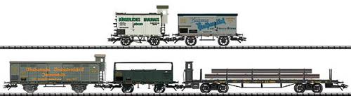 Trix 24098 - Royal Bavarian State RR Era I Freight Car Set, 5 Cars (L)