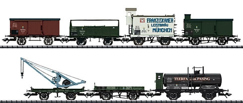 Trix 24114 - K. Bay.St. B. Freight 7-Car Set