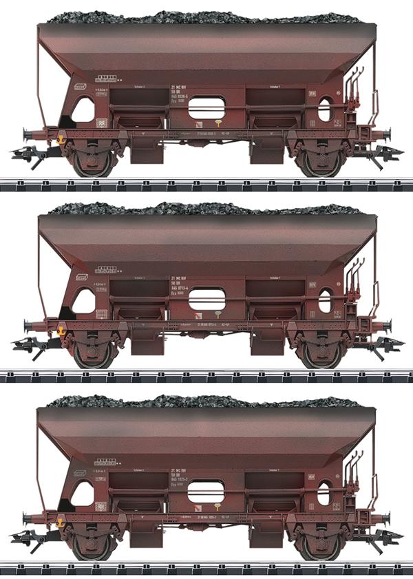 Trix 24123 - 3pc Dump Car Set