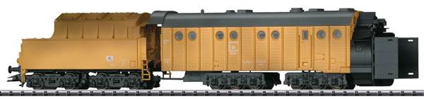Trix 24126 - German Steam Powered Rotary Snowplow Henschel Design of the DR (DCC Sound Decoder)