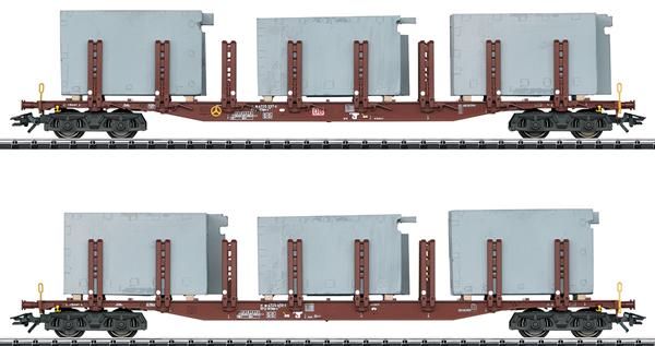 Trix 24141 - German Stake Car Set Bathing Systems
