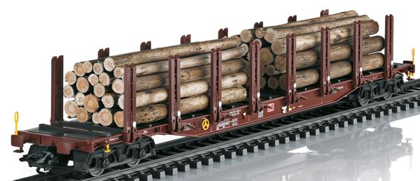 Trix 24146 - Wood Transport Stake Car Set