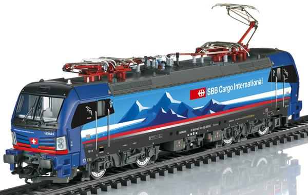 Trix 25192 - Swiss Diesel Locomotive class 193 of the SBB Cargo (DCC Sound Decoder)