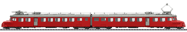 Trix 25260 - Swiss Double Powered Rail Car Class RAe 4/8 of the SBB (DCC Sound Decoder)