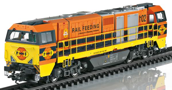 Trix 25297 - Diesel Locomotive class G 2000 BB Vossloh (DCC Sound Decoder)