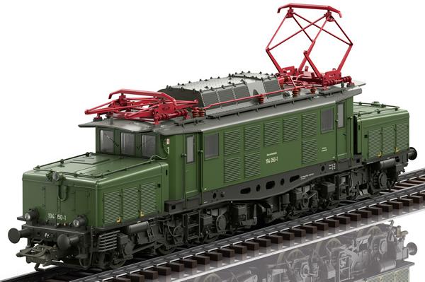 Trix 25990 - German Electric Class 194 of the DB (DCC Sound Decoder)