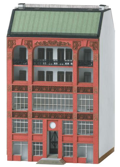 Trix 66306 - Building Kit for a City Building in Art Nouveau
