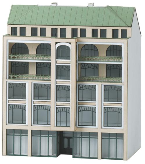 Trix 66307 - Building Kit for a City Building in Art Nouveau