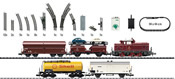 Transfer Freight Train Starter Set with a Track Layout and a Locomotive Controller