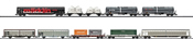 Modern Railroading Display Set with 10 Freight Cars