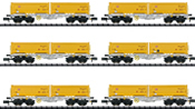German Freight Car-Set Earth Removal from Stuttgart 21