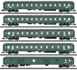 5pc D 360 Express Train Passenger Car Set