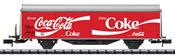 SBB Coca-Cola® Type Hbils-vy Sliding Wall Boxcar