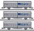 SBB Sliding Wall Boxcar Set, Era VI