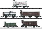 German Era I Palatinate Freight Car Set