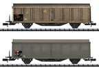 SBB Type Hbis-v Sliding Wall Boxcar Set