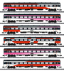 6pc ICRm Express Train Passenger Car Set