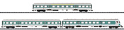 German 3pc Car Set Regional Express of the DB AG