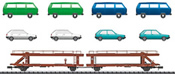 German Car Transporters of the DB