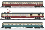 IC 611 Gutenberg Express Train Passenger Car Set #1