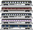 German D 730 Express Train Passenger Car Set