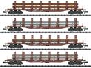 """Steel Transport"" Freight Car Set"