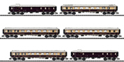 DRG Rheingold Express Train Passenger Car Set