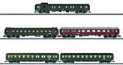 5pc Express Train Passenger Set