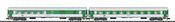 2pc Express Train Passenger Car Set Type Y