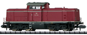 German Diesel Locomotive Class V 100.10 of the DB (Sound)