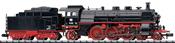German Steam Locomotive BR 18 of the DB (Sound)