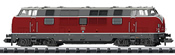 German Diesel Locomotive Series 200.1 of the DB (DCC Sound Decoder)