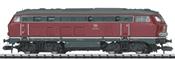 German Diesel Locomotive BR 215 of the DB, Sound