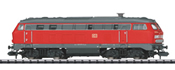 German Diesel Locomotive BR 225 of the DB AG, Sound