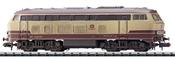 German Diesel Locomotive 217 001-7 of the DB AG (Sound)